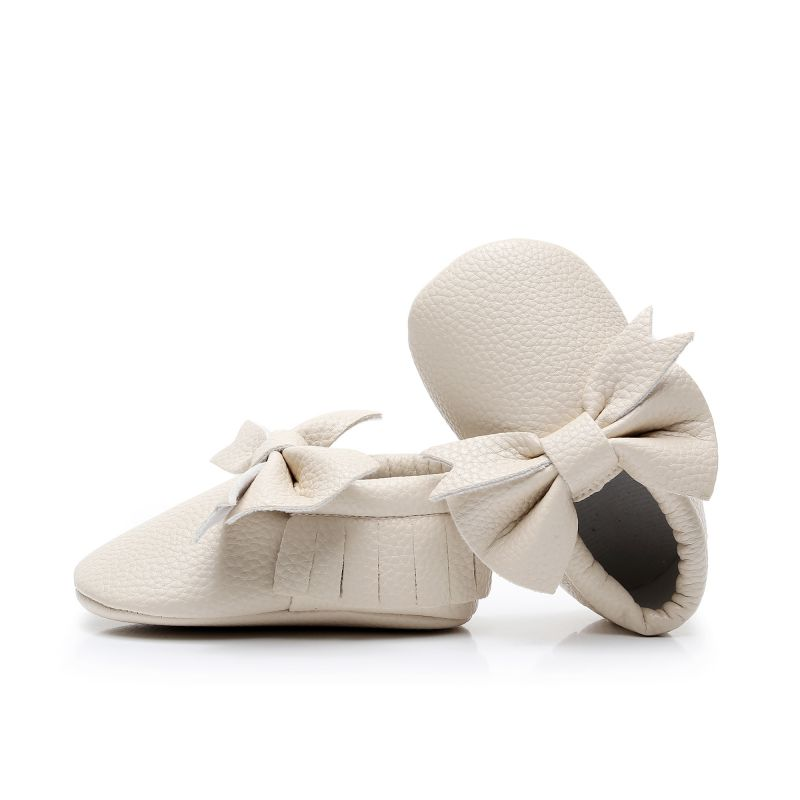 Hot Baby Shoes Children Casual Shoes Toddler Girl Breathable Bow Anti-Slip Shoes Casual Sneakers Infant Soft Soled First Walkers