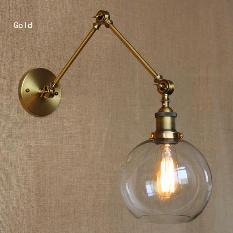 Wall Lamp Rural Industry Industrial Simple European Style Dining Room Bedroom Corridor Rustic Vintage Sconces