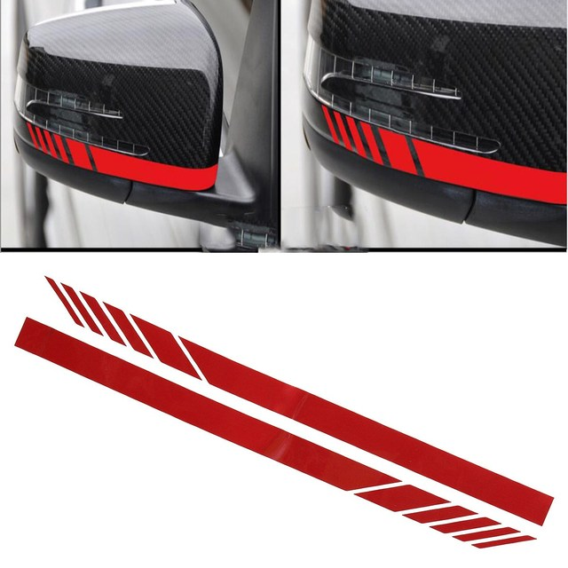 Mirror Stripe Decal Sticker For Benz W204 W212 W117 W176 Edition 1 For AMG 640x640