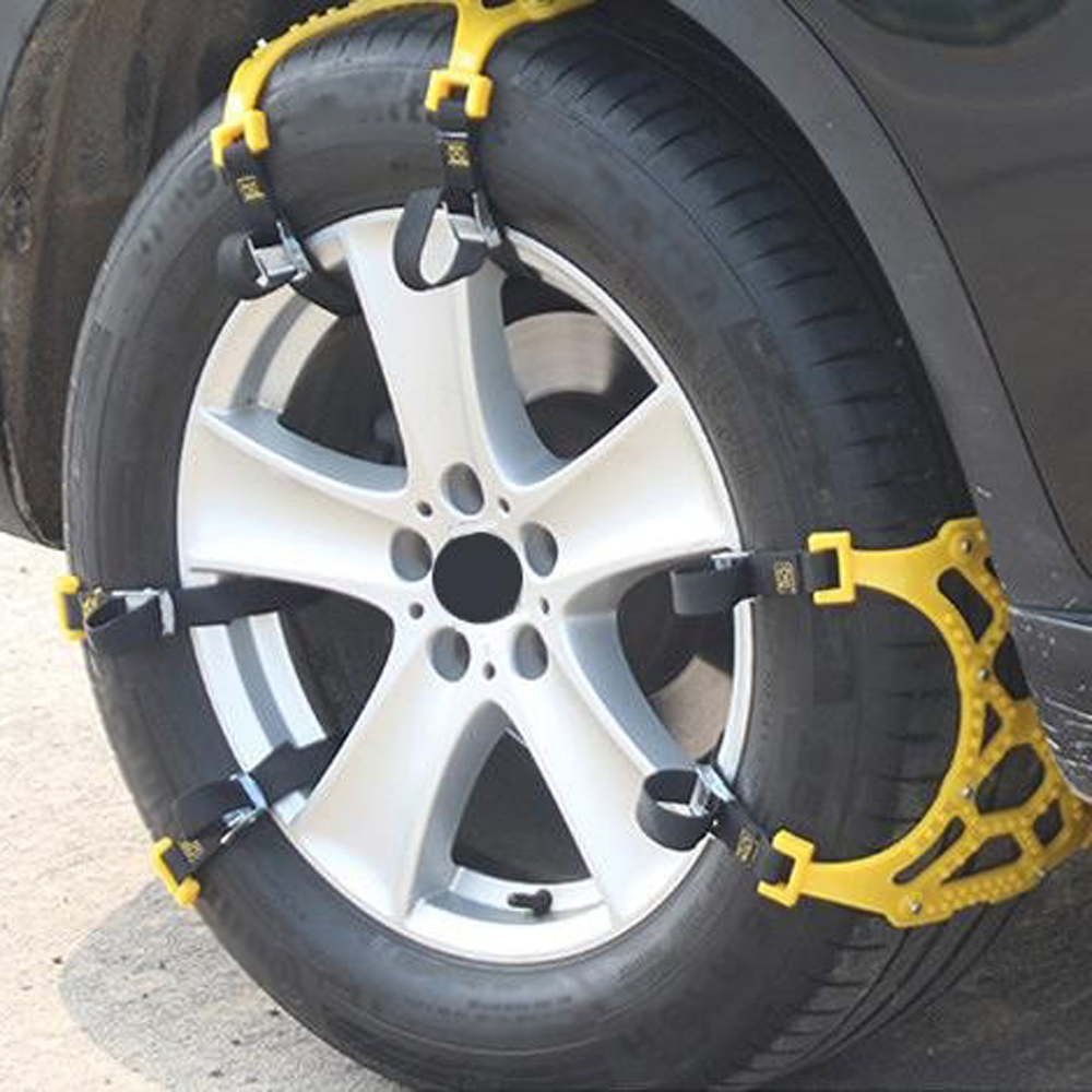 где купить  Hawksoar 6pc/ Set Car Van Snow Tire Anti-skid Chains Beef Tendon Wheel Antiskid TPU Chain High Quality  по лучшей цене