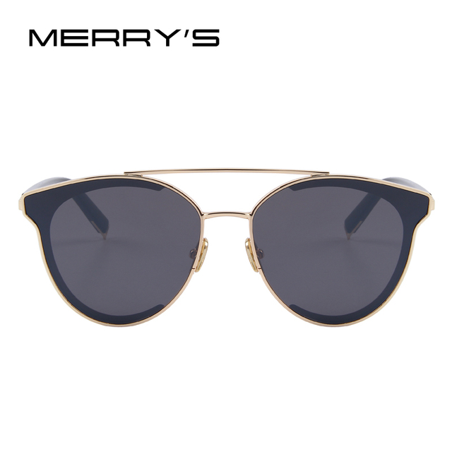 MERRY'S Women Fashion Cat Eye Sunglasses Classic Brand Designer Sunglasses