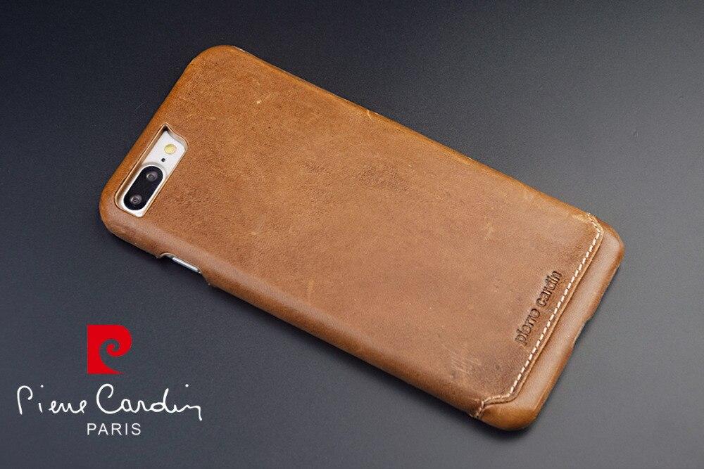 Pierre Cardin Luxury Genuine Leather Case For Apple Iphone 8 8 Plus
