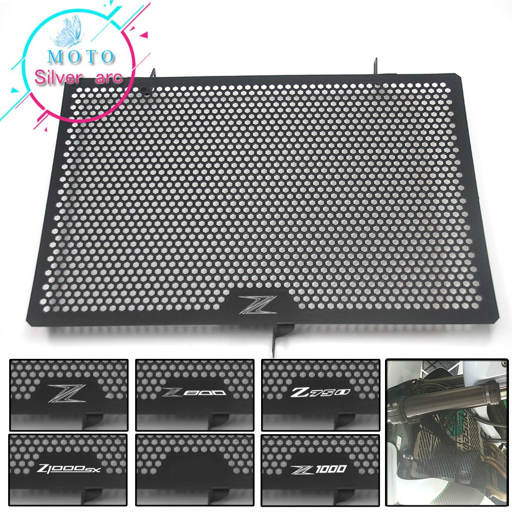 For KAWASAKI Z750 Z800 Z1000 Z1000SX NINJA 1000 radiator protective cover Guards Radiator Grille Cover Protecter(China)