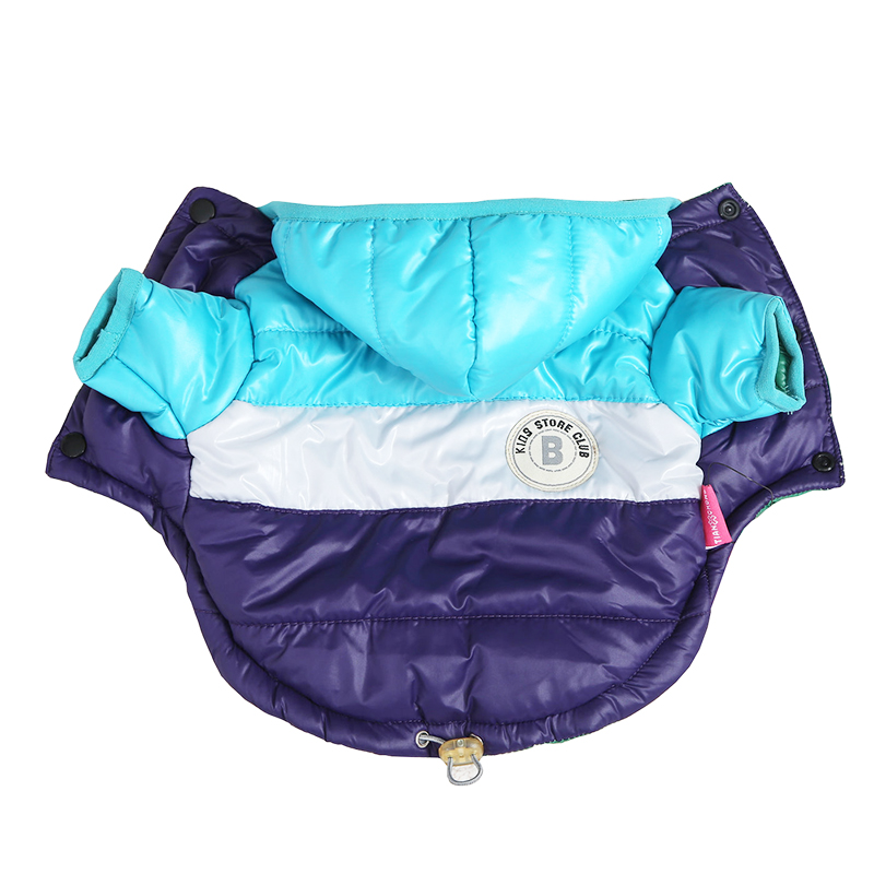 Waterproof and Hooded Dog Jacket with Leash Hole Ideal for Autumn/Winter Season 1