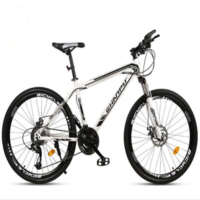Cross-Country Mountain Bike 21/24/27/30 Speed Spoke Wheel Ultra Light Shock Absorbing Adult Bike For Men And Women