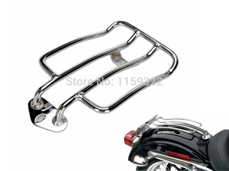 Motorcycle parts Chrome Solo Seat Luggage Rack For Harley Davidson ...
