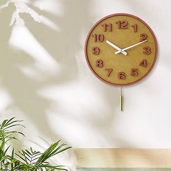 3D Colour Simple Digital Wall Clock Creative Art Wall Clock Vintage Living Room Decorative Orologio Parete Unique Gifts 50w245