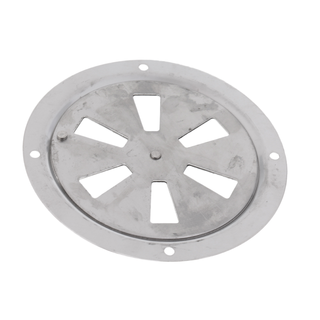 Image 5 - 2019 New Boat Stainless Steel Butterfly Ventilator Cover Round Louvered Vent 4 Inch Outer Diam With Side Knob Boat Hardware-in Marine Hardware from Automobiles & Motorcycles