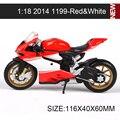 DMH Modelos de Motocicletas 1199 Superleggera 696 1200 S 848 Scrambler 1:18 escala miniatura Juguete raza Para la Colección de Regalos