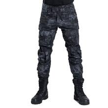 2019 Military Tactical Pants Men Camouflage Pantalon Frog Ca