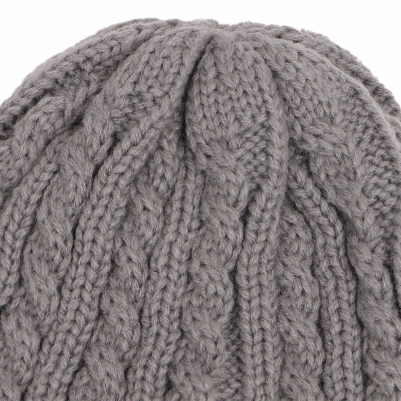 a7c6f2ef0d2 ⑧Winter Casual Cotton Knit Hats For Women Men Baggy Beanie Hat ...