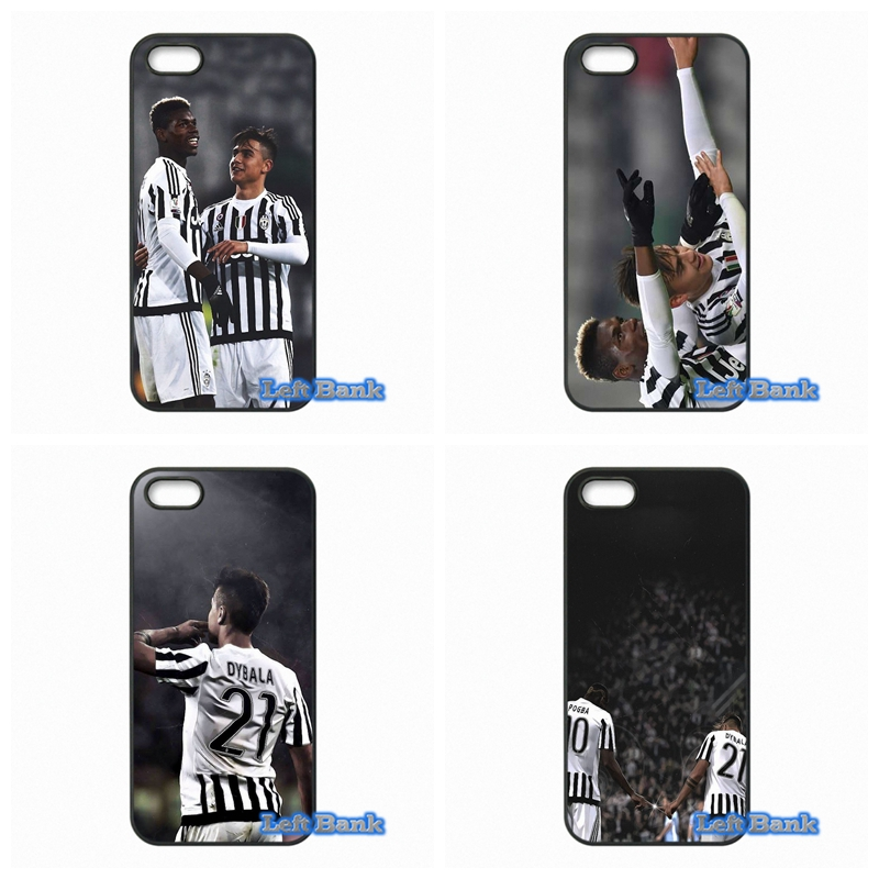 Paul Pogba and Paulo Dybala Hard Phone Case Cover For Apple iPod Touch 4 5 6 For iPhone 4 4S 5 5S 5C SE 6 6S Plus 4.7 5.5