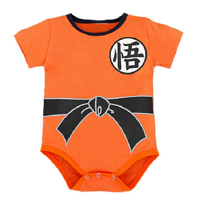 Dragon Ball Baby Jumpsuit Newborn Boys Clothes SUN GOKU Toddler Bebes Jumpsuit Halloween Costumes Baby Boy Girl Clothes