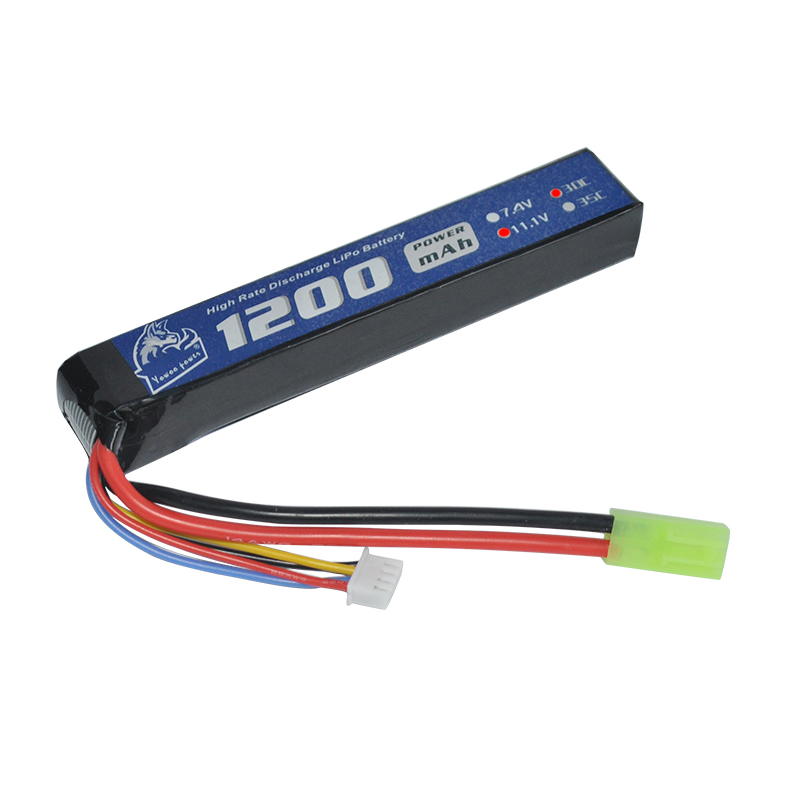 YOWOO Lipo AKKU RC Airsoft Gun Modell Lipo Batterie 11,1 v 1200 mah 30C Burst 60C 3 s Mini Tamiya stecker Für Fernbedienung Spielzeug