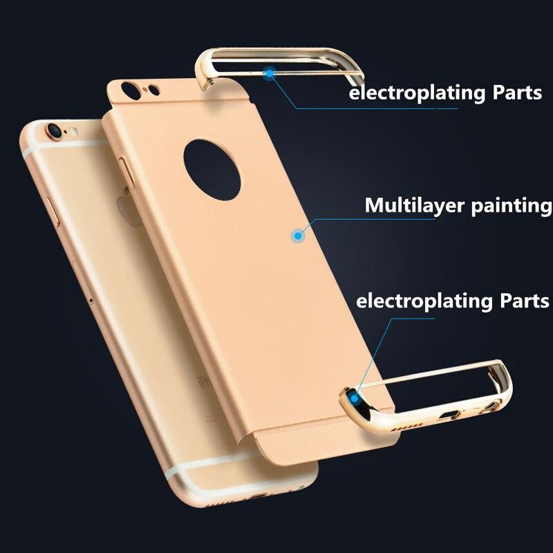 Lyxborttagbar 3-i-1-fodral för Apple iPhone 7 7Plus Coque 6 6S Plus - Reservdelar och tillbehör för mobiltelefoner - Foto 4