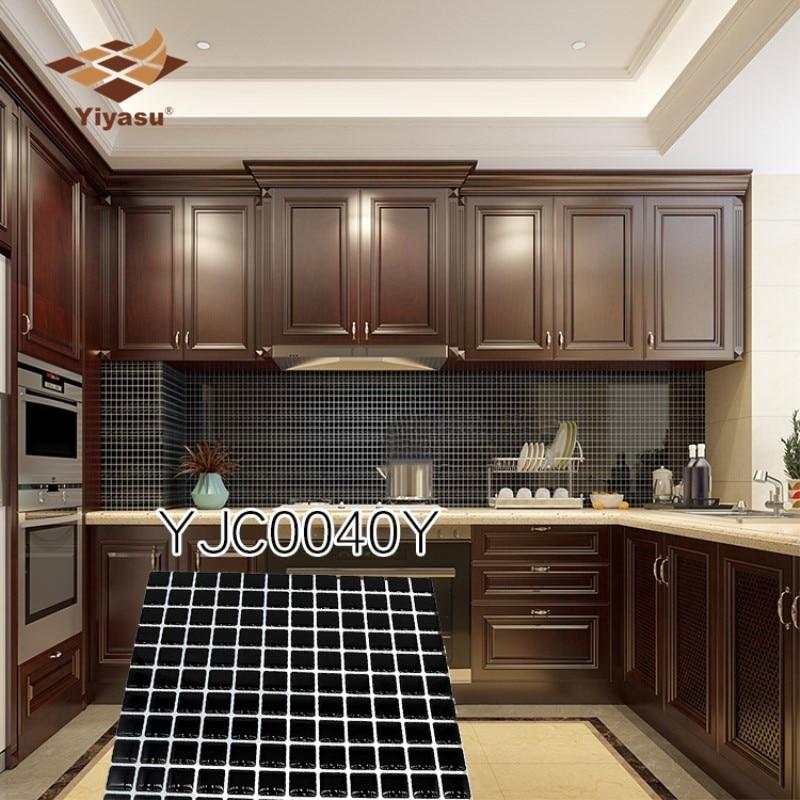 aliexpress  buy whiteblack mosaic wall tile peel and