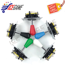 cheap control joystick colorful color ball joystick with microswitch made in China sanwa microswitch joystck
