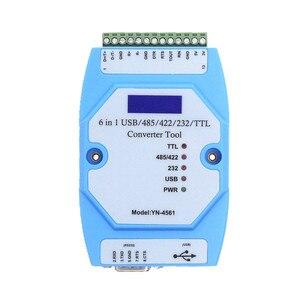 Image 1 - YN4561 sei in un modulo seriale CP2102 USB/485/422/232/TTL conversione reciproca COM seriale YN 4561
