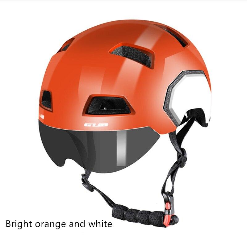 GUB V3 ville casque De Vélo Route VTT Moto Sport Saftey Casque Avec Lentille Magnétique M (54-58 cm) L (56-61 cm)