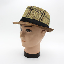 Fedora Шляпа Fedora шляпы для мужчин размер головы 58 СМ лето sombrero Джаз hombre chapeu папа джентльмен Англия шляпа шапки