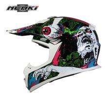 (1pc&3colors) High Quality Top Professional Brand Nenki 317 Off Road Motorcycle Helmet Motocross Helmets Capacete Casco