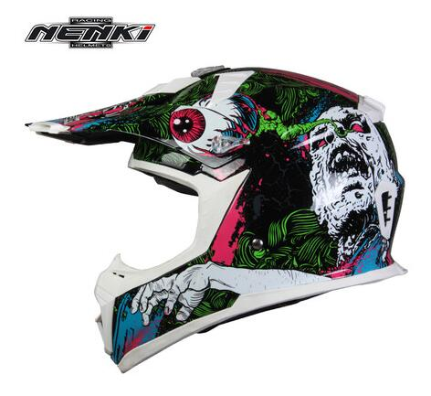 1pc 3colors High Quality Top Professional Brand Nenki 317 Off Road Motorcycle font b Helmet