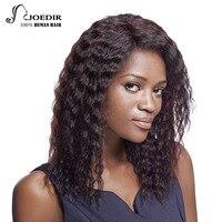 Joedir Hair Brazilian Virgin Hair Loose Deep Wig Lace Front Human Hair Wigs 18 Inch New Style Lace Head Seam Free Shipping