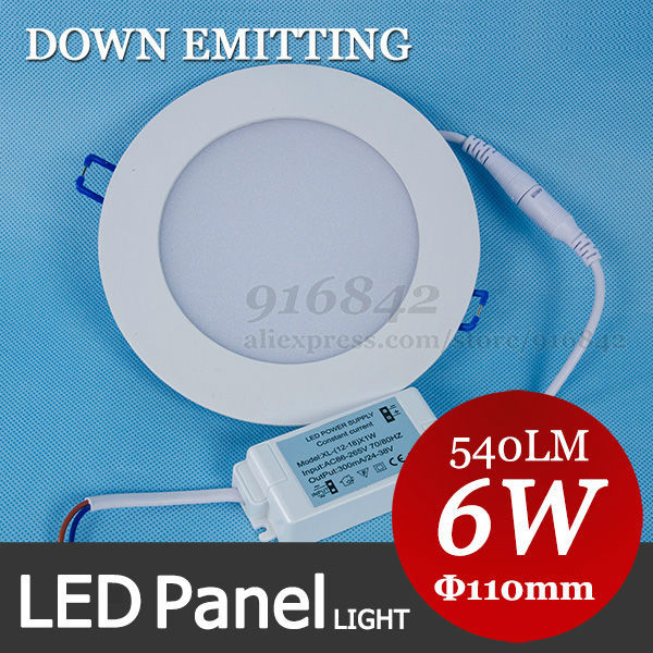 US $61 96  Factory price 6W kitchen ceiling light diffuser panel, 110mm 4  inch round panel lgith, see our quality-in LED Panel Lights from Lights &