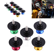 Car-Styling Motorcycle CNC Rear Stand Swing Arm Spool Sliders Stand Swingarm Bobbins 6mm 8mm 10mm