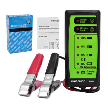 All-Sun GK503 Mini 12V Automotive/ Car Battery Tester Charger/ Alternator/ Cranking Check with 6-LED Display Easy to Use