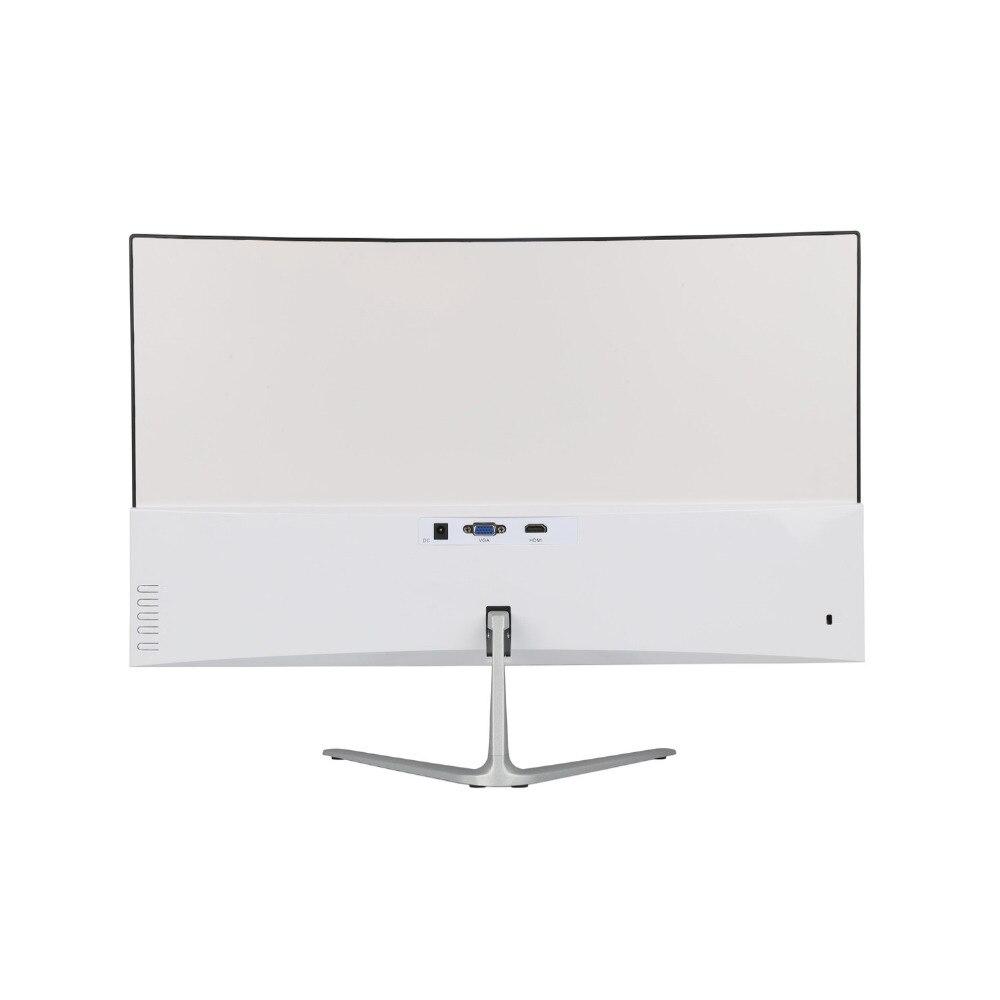 Wearson 23,8 pulgadas competición de juegos curva pantalla ancha LCD Monitor de juegos HDMI VGA entrada 2 ms respuesta WS238H - 3