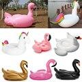 Гигантские Надувные фламинго Бассейн надувной поплавок единорог взрослых Плавание кольцо надувные Лебедь пончик Воды Бассейн Игрушки DHL Бесплатно