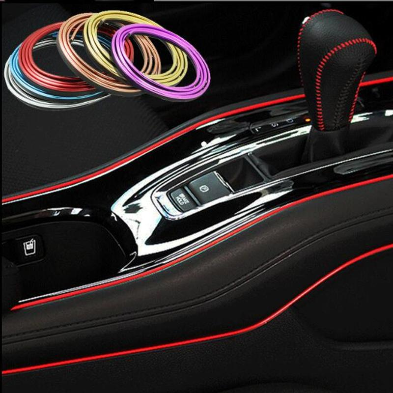 3pcs! Universal 5M Car Styling Interior Exterior Decoration Strips Door Panel Central Instrument Panel Retro Strips Masking Tape3pcs! Universal 5M Car Styling Interior Exterior Decoration Strips Door Panel Central Instrument Panel Retro Strips Masking Tape