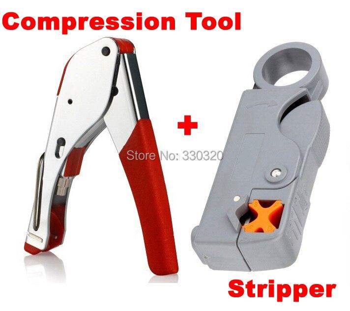 new multi compression coaxial cable crimping tool f rg6 rg58 rg59 connectors coax crimper. Black Bedroom Furniture Sets. Home Design Ideas