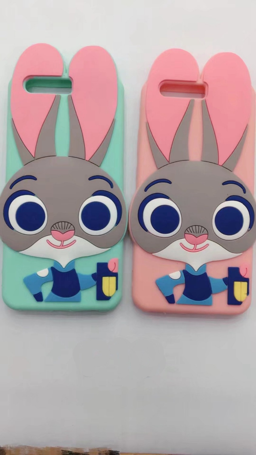 For Huawei P10 Case 3d Silicon Stitch Sulley Judy Rabbit Cartoon Silikon Xiaomiredmi3s Soft Phone Back Skin Cover Lite Plus In Pouch From