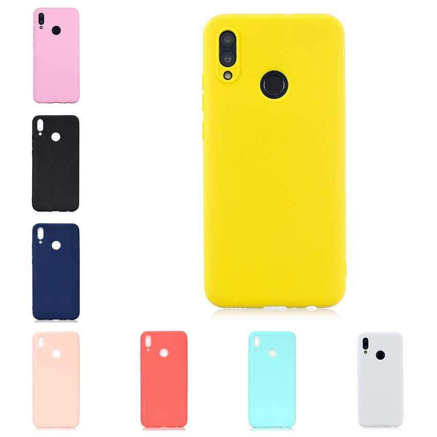 Candy Color Phone Case For Coque Hawei P Smart 2019 Honor 10 Lite Nova 3i Mate 10 20 Pro Lite Soft Silicon TPU Back Cover Etui