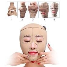 Health Care Facial Slimming Bandage Beauty Tools Elastic Skin Color Face Mask Bandage Lift-up Chin Slimming V Face Shaper