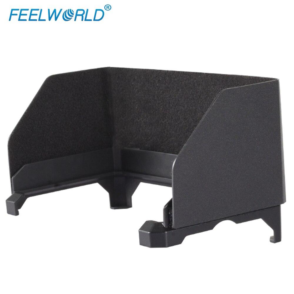 Feelworld Parasol Portable Poids Léger Installation Flexible pour 5.7 pouce F6 4 k HDMI Entrée Sur Caméra Vidéo DSLR Domaine moniteur
