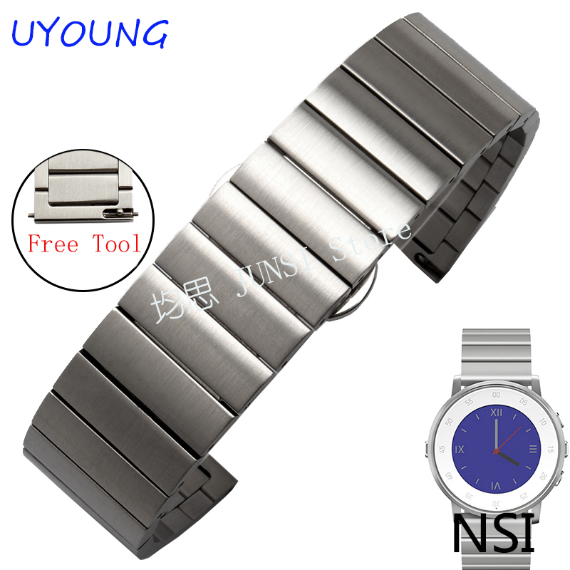 Pebble Steel Smart Watches