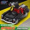 XingBao Block 825Pcs Creative MOC Technic Series The Photpong Car Set Education Building Blocks Bricks Toys