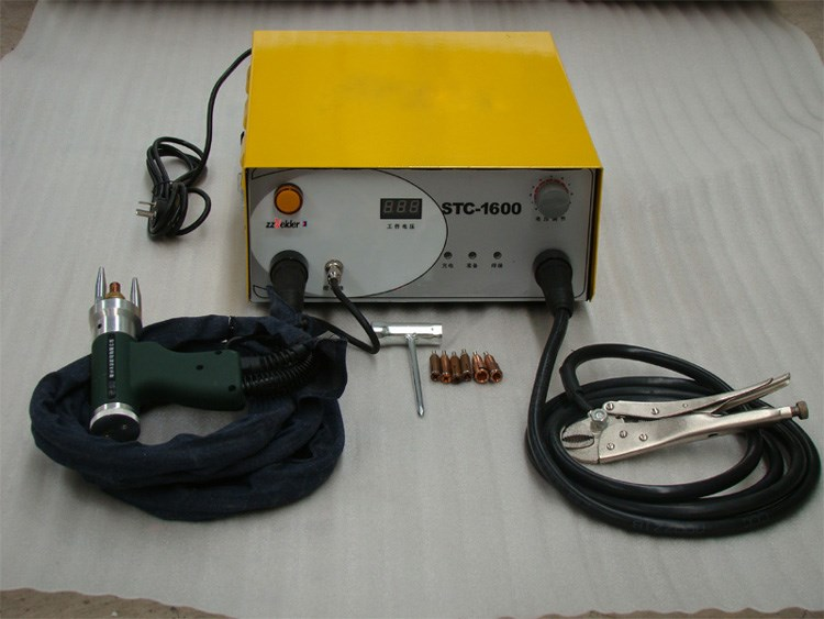 New SCT-1600 Capacitor Discharge CD Stud Welder Spot Welding Machine M3-M8 220V 320pc capacitor discharge welding studs ws 320