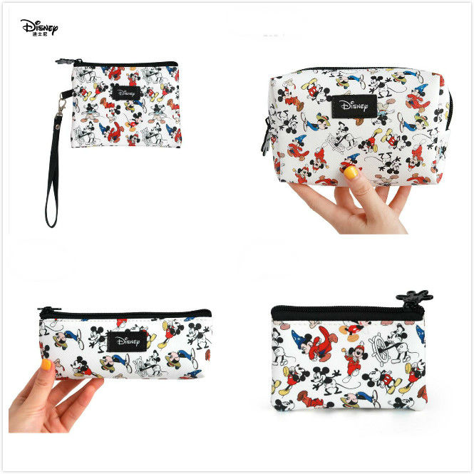 Genuine Disney Mickey Mouse Fashion Minnie Mommy Bag Multi-function Women Bag PU Leather Wallet Bag Kids Toy Free Dropshipping