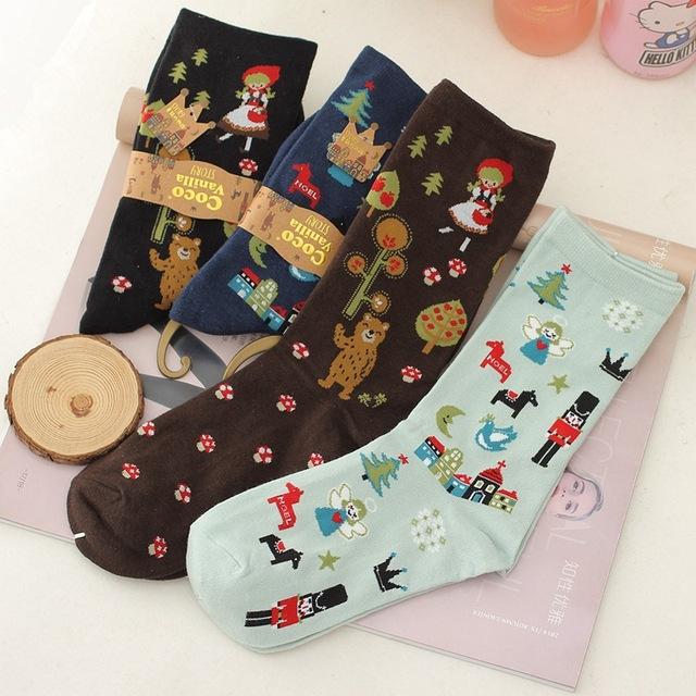 Calcetines nuevos calcetines de invierno algodón peinado calcetines de algodón calcetines