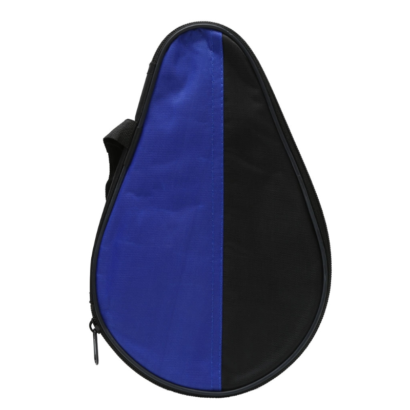OOTDTY Portable Waterproof Table Tennis Racket Case Bag For Ping Pong Paddle Bat Cover Case Protector