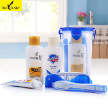 Travel Pack Toiletries Men Travel Hotel Travel Toiletry Bags Female Portable Wash Gargle Suit