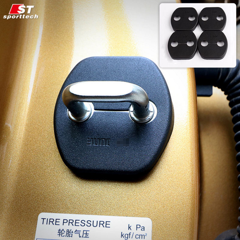 Car Styling Door Lock Clips Protector Cover For Nissan Pathfinder Protection Holder Fastener For Nissan Pathfinder Accessories
