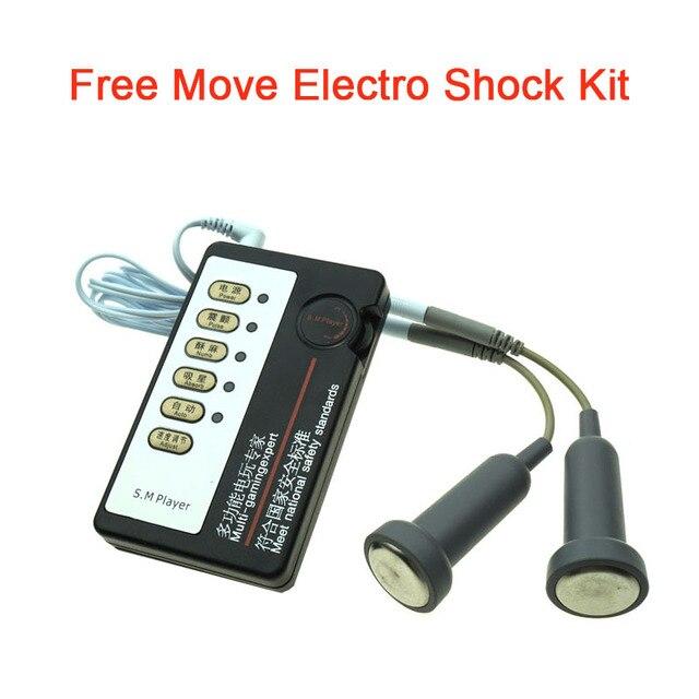 Electro stimulation device for bdsm