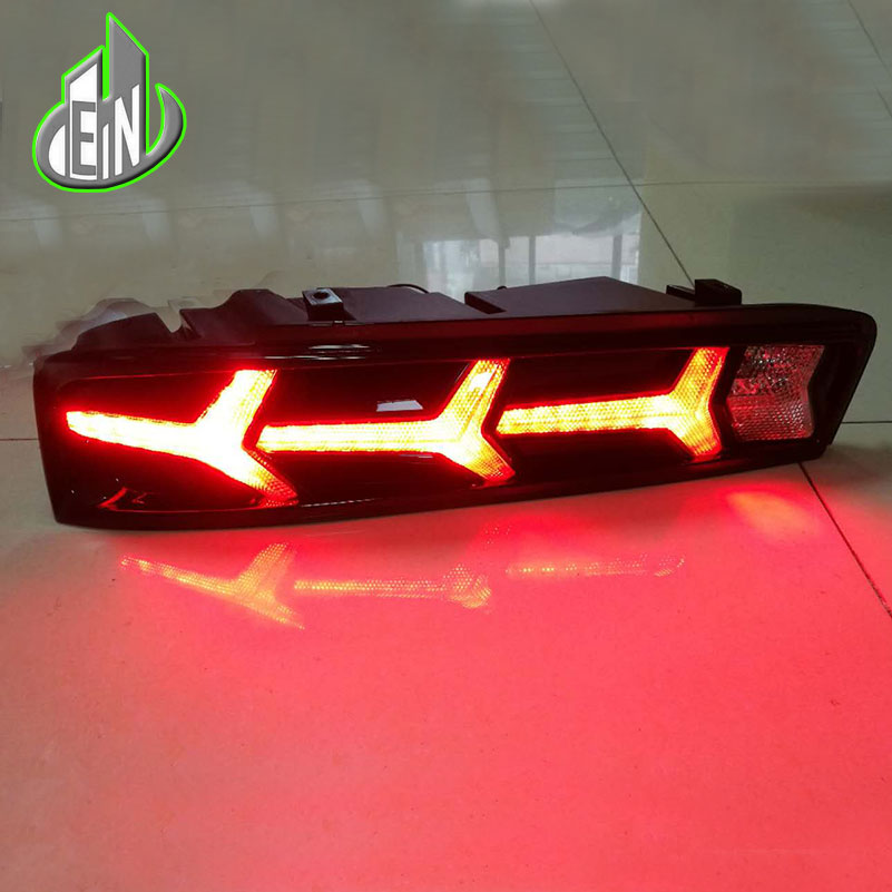 Car Styling 2017 For Chevrolet Camaro taillights LED Tail Lights Rear Lamp LED DRL+Brake+Park+Signal Stop Lamp car styling tail lights for chevrolet captiva 2009 2016 taillights led tail lamp rear trunk lamp cover drl signal brake reverse