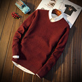 2016 Autumn Sweater For Men New Style Round Neck S329 Christmas Sweater Men Pullover Men Male Sweater Pull Homme Marque