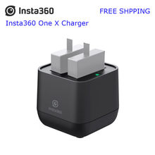 Rechargable Insta360 ONE X Dual Battery Charger Micro USB Fast Charging Insta360 ONE X Panoramic Camera 60 Minutes Charging(China)